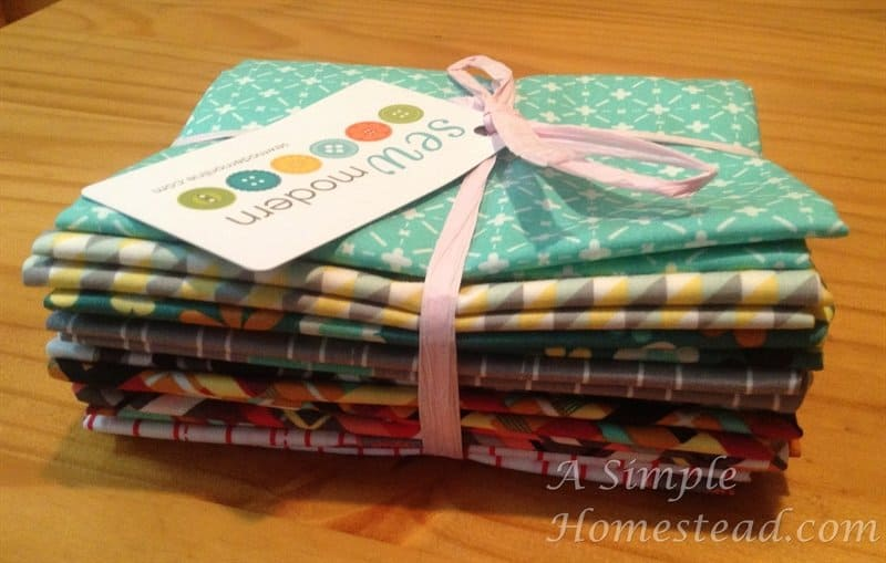 Sew Modern fat quartersprize pack