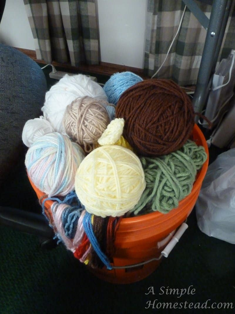 Yarn stash update