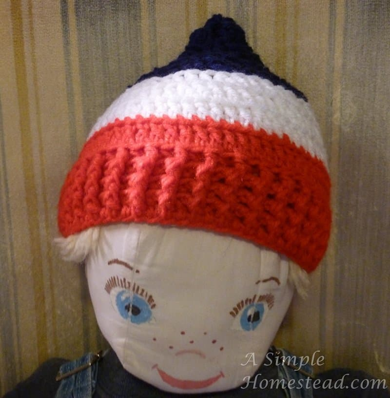 FO Friday – Patriotic hat