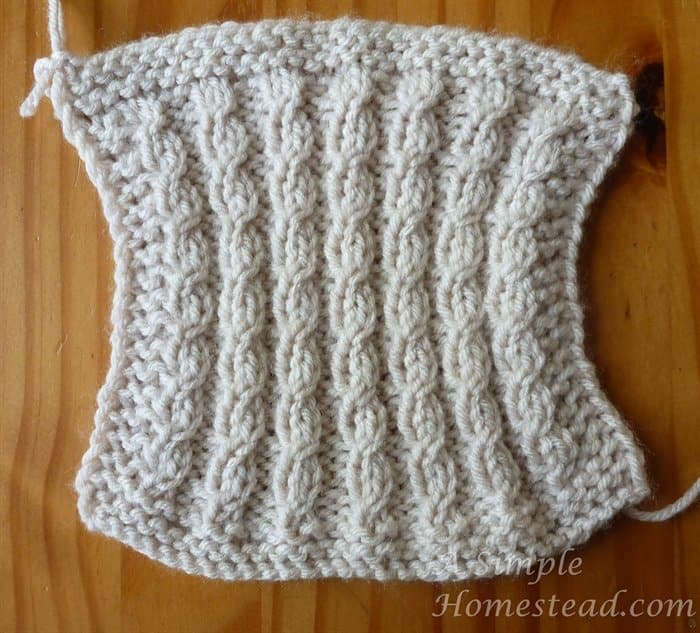 Cable Knit Dishcloth Pattern : FO Friday   blocks ? and blocks A Simple Homestead