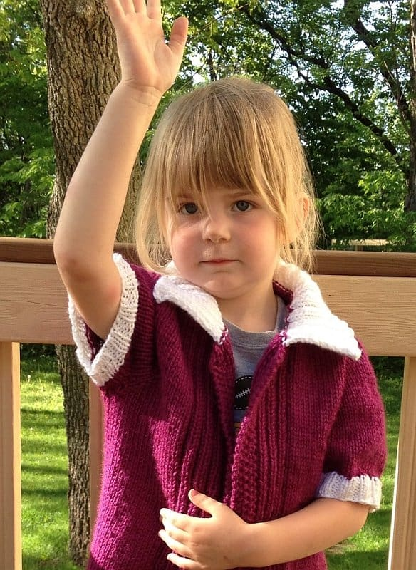 FO Friday – Tomboy Cardigan