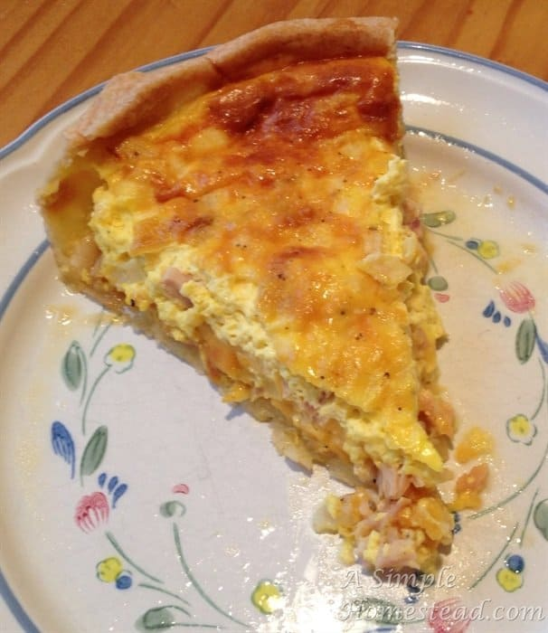 Quiche (a.k.a. Egg pie)