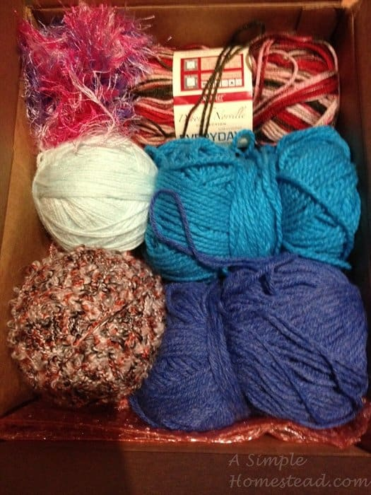 ASimpleHomestead.com - yarn swap