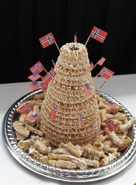 Kransekake (Norwegian Wedding Cake)