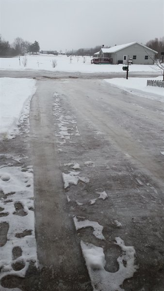 icy streets