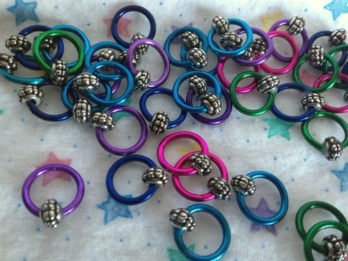 ASimpleHomestead.com - large stitch markers