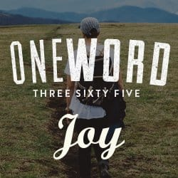 One Word 365 - Joy