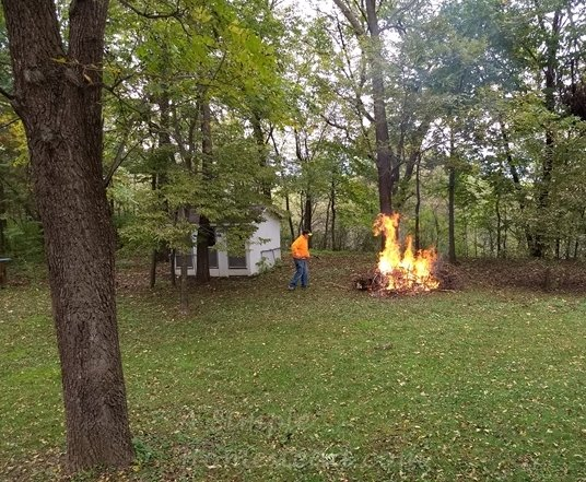 brush burning day