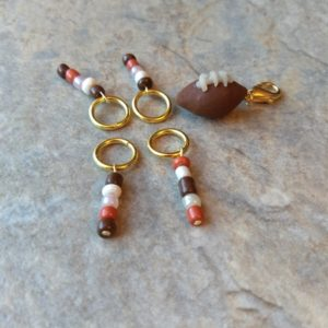 football stitch marker set - ASimpleHomestead